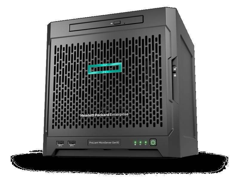 HPE MicroServer Gen10 - Hero