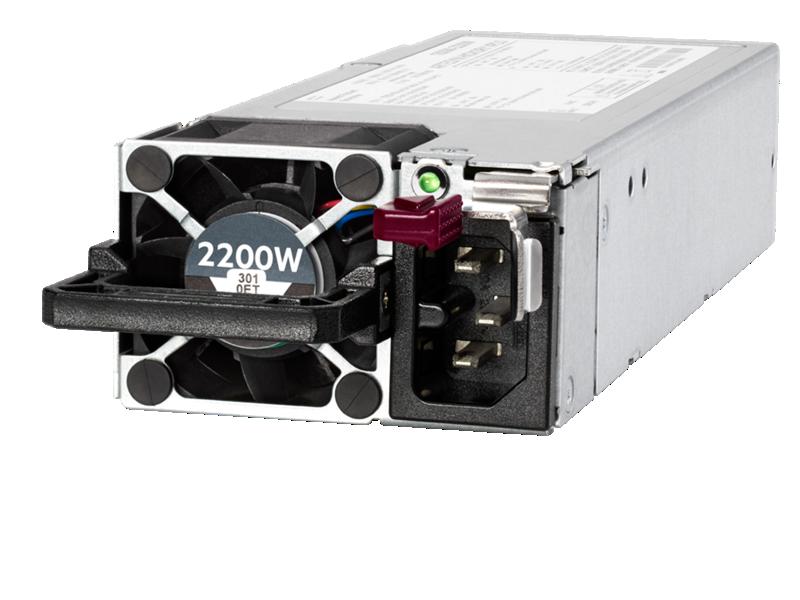 HPE 1800W - 2200W Flex Slot Platinum Hot Plug Power Supply Kit