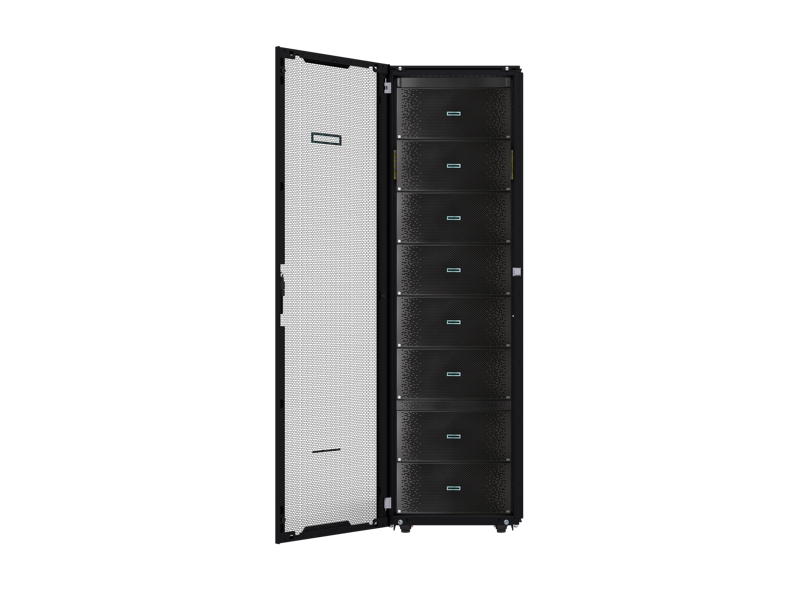 HPE Integrity MC990 X, MC990 X, Integrity server, server, MC990, 8-chassis MC990 X in rack, rack