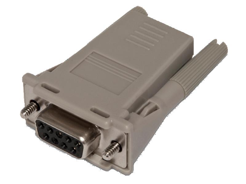 HPE RJ45-DB9 DCE Female Serial Adapter