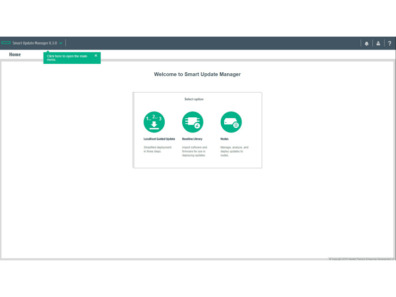 HPE Smart Update Manager (HPE SUM)