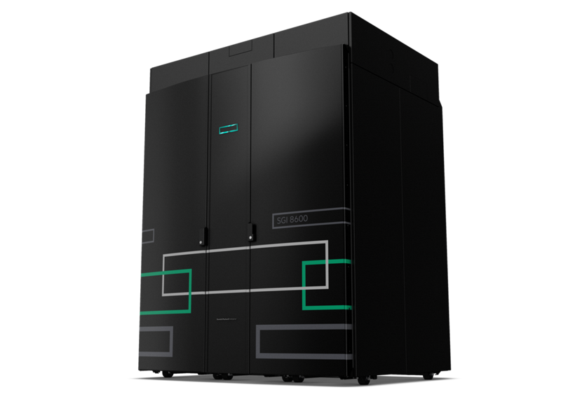 HPE SGI 8600 System - Hero left facing