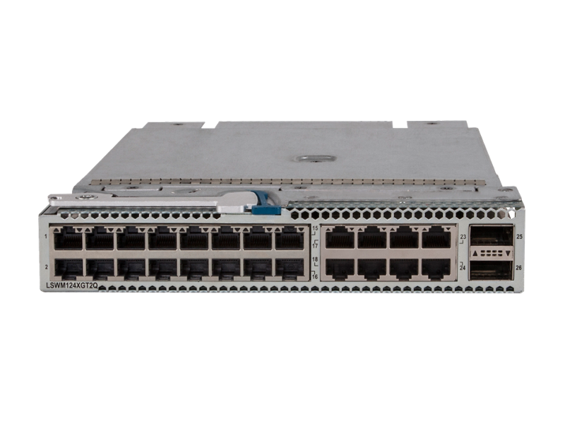 HPE 5930 24-port 10GBase-T and 2-port QSFP+ with MacSec Module, JH182A