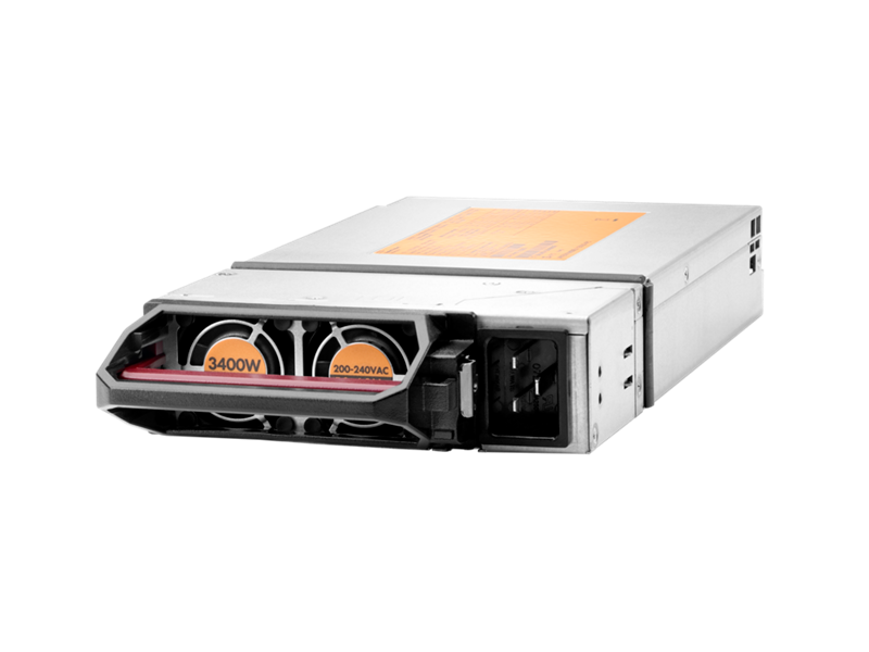 HPE 2900-3400W Hot Plug Platinum Power Supply Kit, HPE 6x 2900-3400W Hot Plug Platinum FIO Power Supply Kit