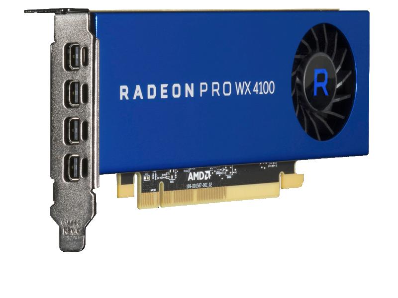 HPE AMD Radeon Pro WX4100 Graphics Accelerator