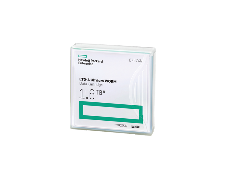 HPE LTO-4 Ultrium 1.6TB WORM Data Tape Cartridge