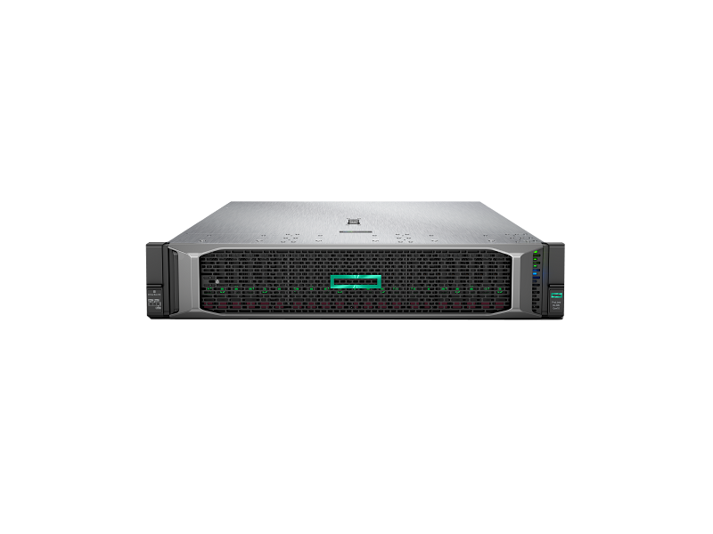 HPE ProLiant DL385 Gen10 - Front with bezel