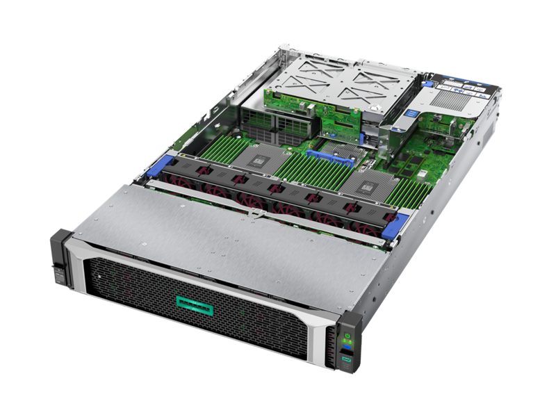 JP_ HPE ProLiant DL385 Gen10 - Interior