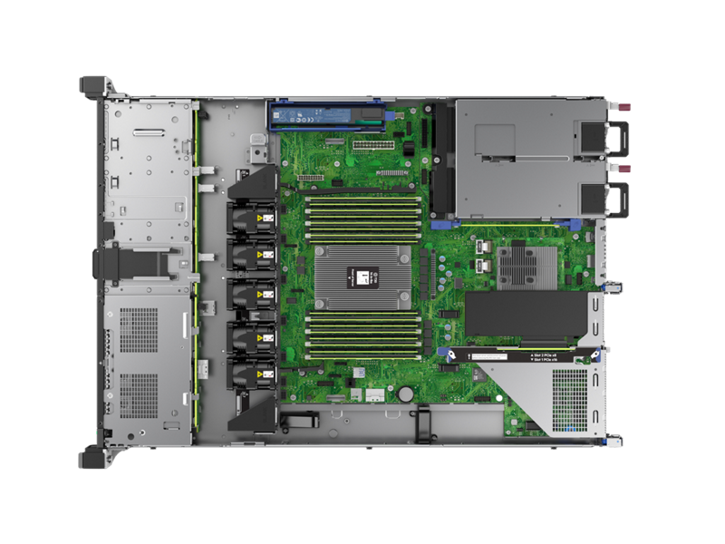 JP_ HPE DL325 Gen10 Server - Top Down Interior