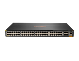Aruba 6300M 48-port 1GbE Class 4 PoE and 4-port SFP56 Switch
