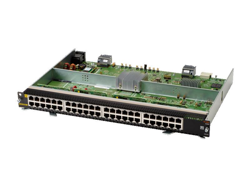 Aruba 6400 48-port 1GbE Class 4 PoE Module