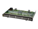 Aruba 6400 48-port 1GbE Class 4 PoE and 4-port SFP56 Module