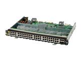 Aruba 6400 48-port HPE Smart Rate 1/2.5/5GbE Class 6 PoE and 4-port SFP56 Module