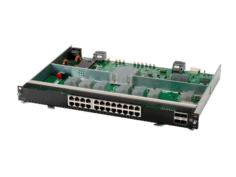 Aruba 6400 24-port 10Gbase-T and 4-port SFP56 Module