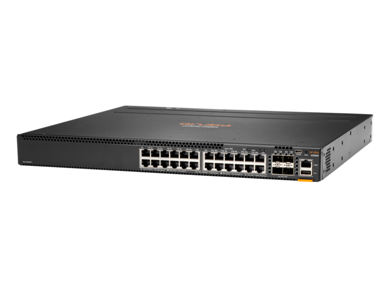 Aruba 6300M 24-port 1GbE and 4-port SFP56 Switch