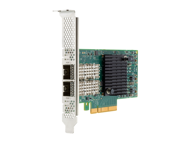 HPE Ethernet 100Gb 2-Port QSFP28 MCX516A-CCAT Adapter