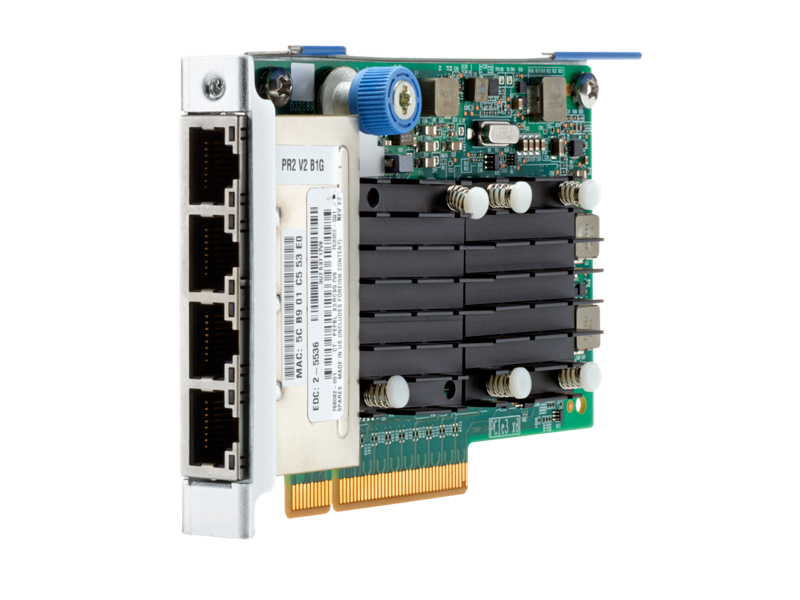 HPE Ethernet 10Gb 4-port SFP+ QL41134HLCU Adapter