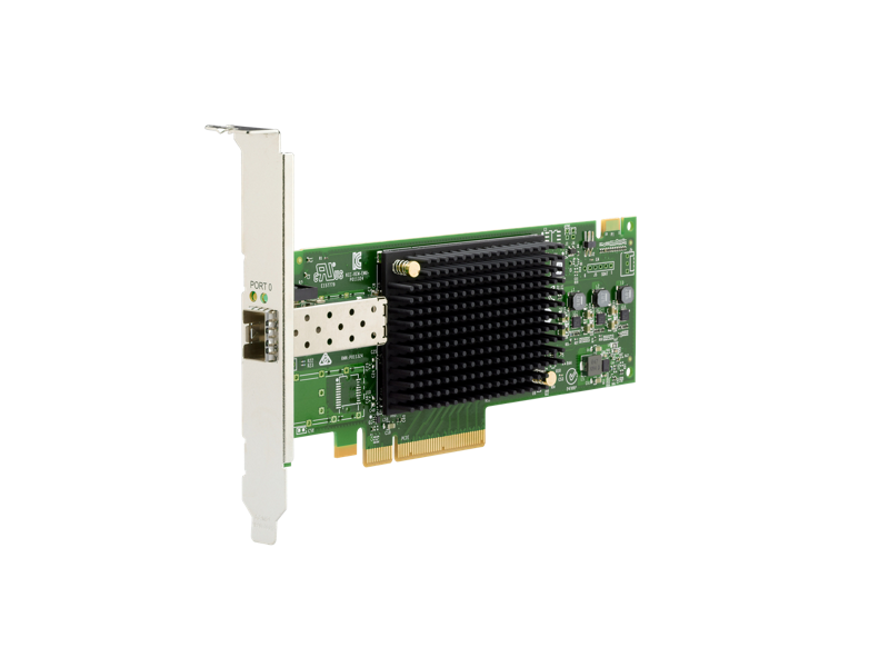 HPE SN1610E 32Gb 1-port Fibre Channel Host Bus Adapter