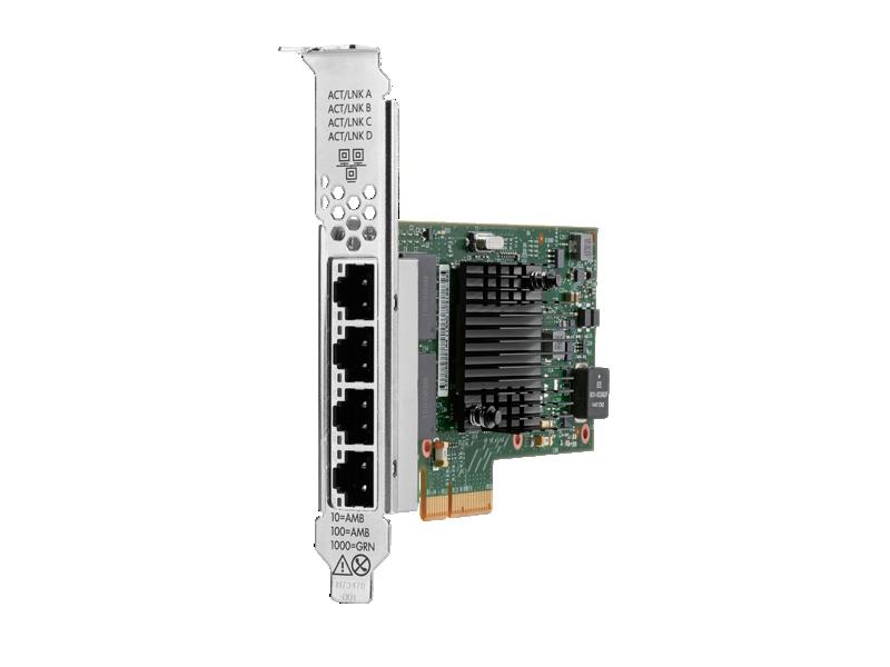 HPE Ethernet 1Gb 4-port BaseT I350-T4 Adapter