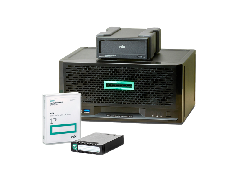 HPE ProLiant MicroServer Gen10 Plus F&B RDX 1TB configuration