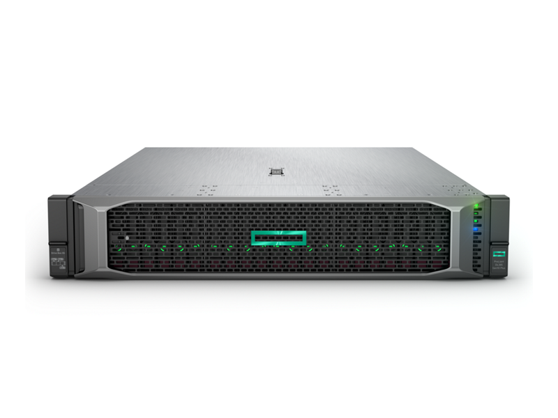 HPE ProLiant DL385 Gen10 Plus Server Imagery - Front with bezel