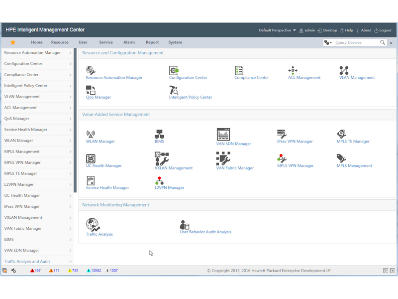 HPE IMC TACACS+ Authentication Manager Software