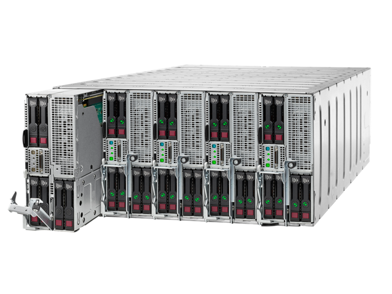 HPE ProLiant XL250a Gen9 Accelerator Tray in a chassis
