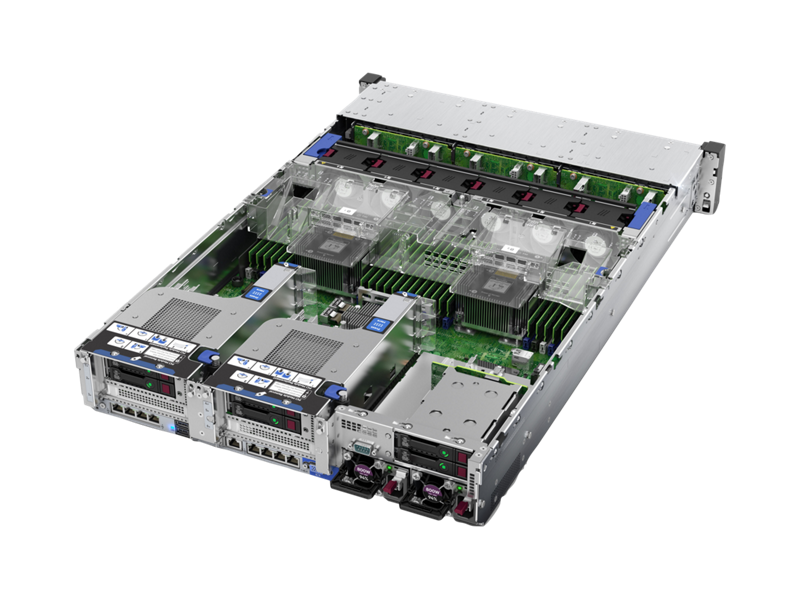 HPE ProLiant DL380 Gen10- Detail view
