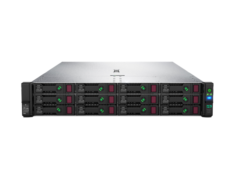 HPE ProLiant DL380 Gen10- Center facing
