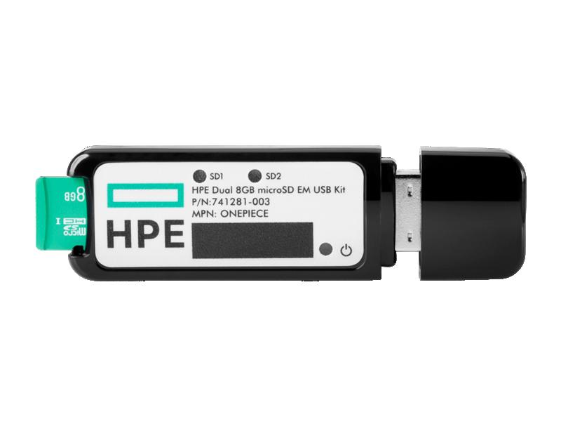 HPE 8GB Dual microSD USB Flash Drive