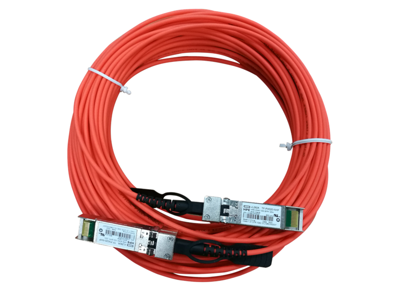 HPE X2A0 10G SFP+ to SFP+ 7m Active Optical Cable, JL292A