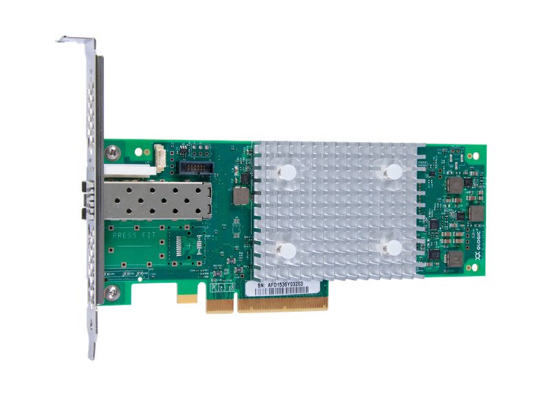 HPE StoreFabric SN1600Q 1-port 32Gb Single Port FC HBA