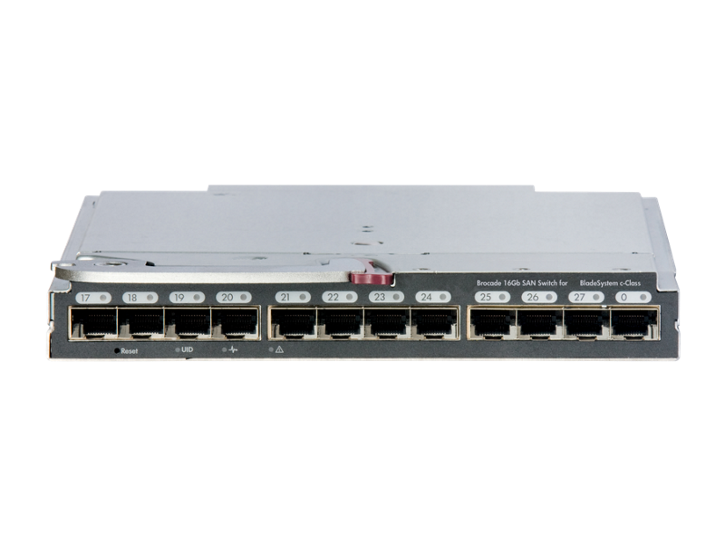 Brocade 16Gb SAN Switch for HPE BladeSystem c-Class