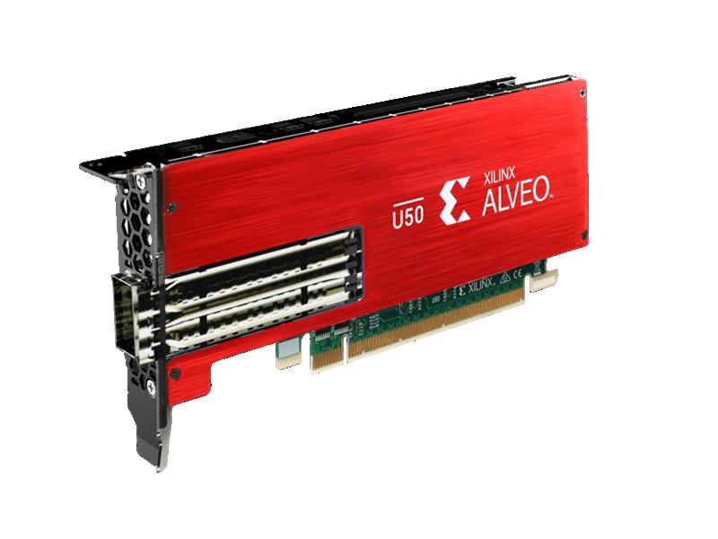 Xilinx Alveo U50 Accelerator