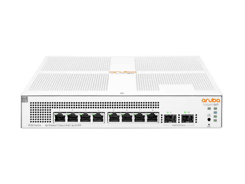 Aruba Instant On 1930 8G Class4 PoE 2SFP 124W Switch