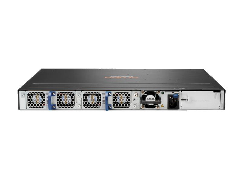 Aruba 6300M 48-port 1GbE and 4-port SFP56 Power-to-Port 2 Fan Trays 1 PSU Bundle