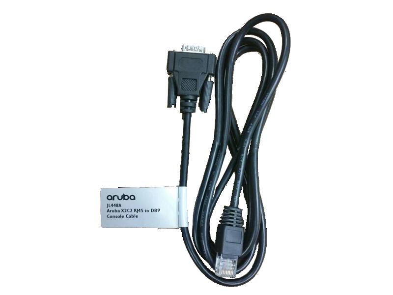 Aruba X2C2 RJ45 to DB9 Console Cable