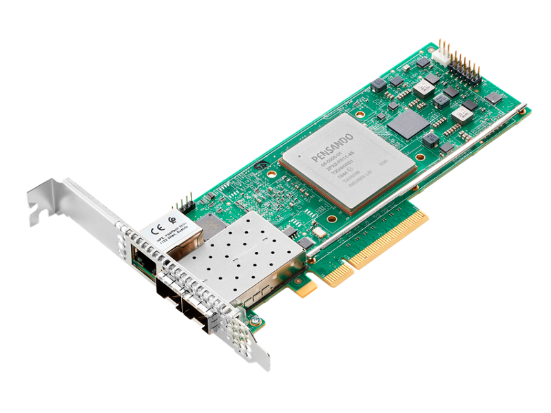 Pensando Distributed Services Platform DSC-25 10/25G 2-port SFP28 Card