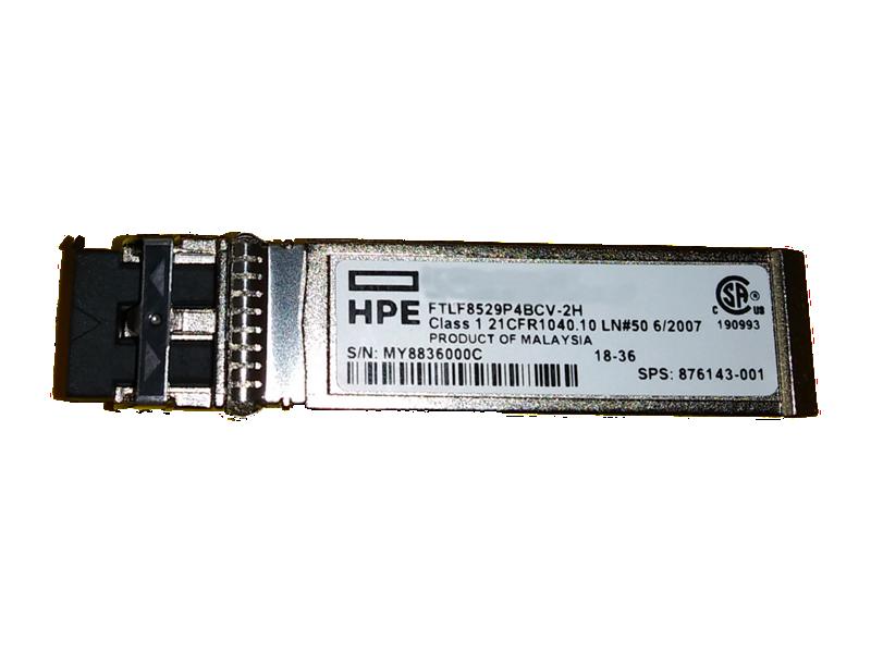 HPE 8Gb Short Wave Fibre Channel SFP+ 1 Pack Transceiver