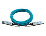 HPE X2A0 40G QSFP+ to QSFP+ 10m Active Optical Cable, JL288A