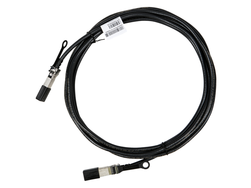 HPE X240 25G SFP28 to SFP28 5m Direct Attach Copper Cable, JL296A