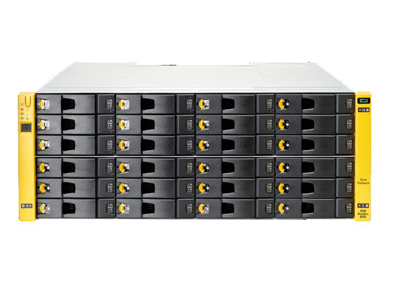 HPE 3PAR StoreServ 8000 LFF(3.5in) SAS Drive Enclosure