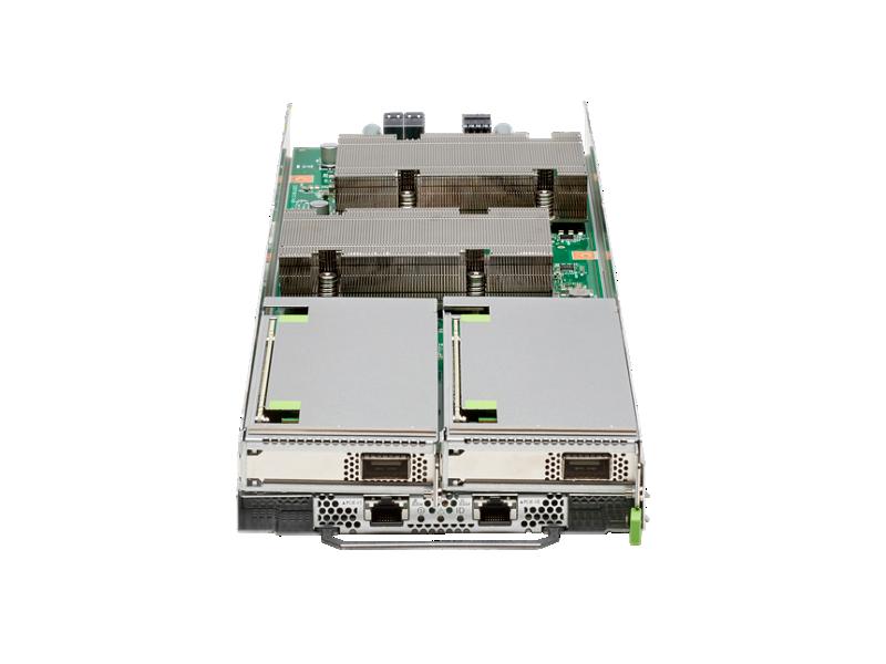 HPE Apollo 80 1U 2-node Blade 48-core 1.8GHz NSP-1 32GB HBM 1x SSD Configure-to-order Server
