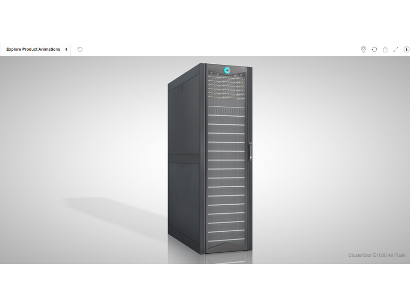 Cray ClusterStor E1000 Storage Systems - All Flash