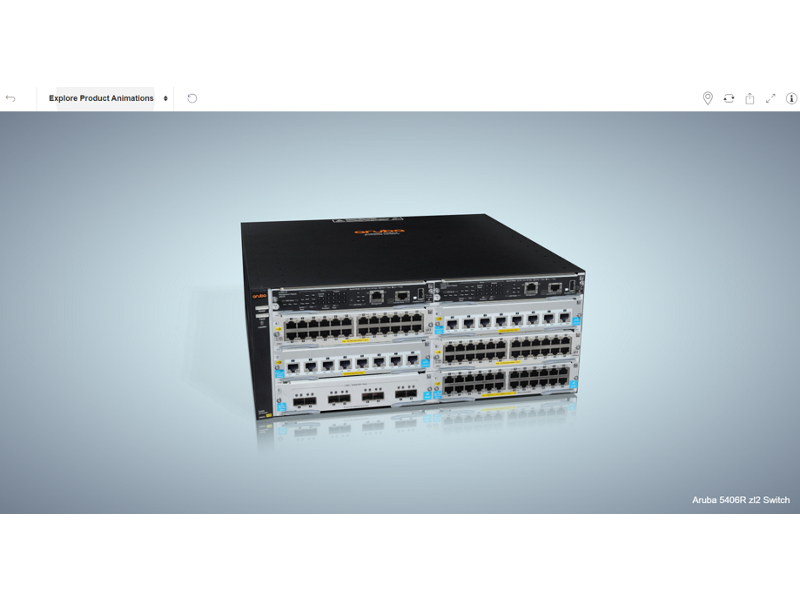 Aruba 5406R zl2 Switch
