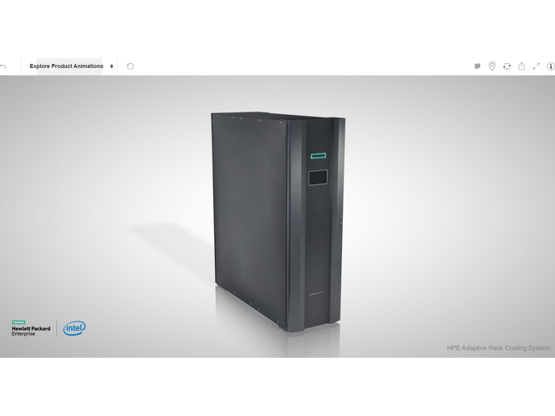 HPE Adaptive Rack Cooling System