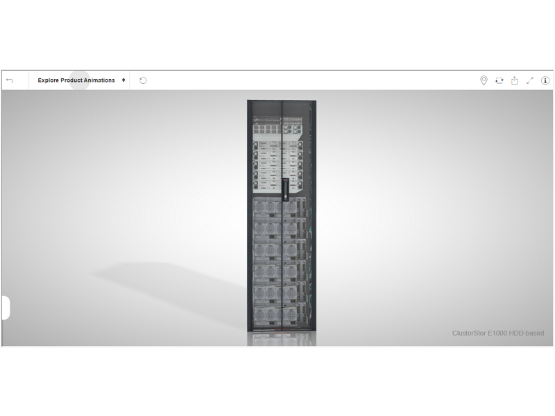 Cray ClusterStor E1000 Storage Systems - HDD Based