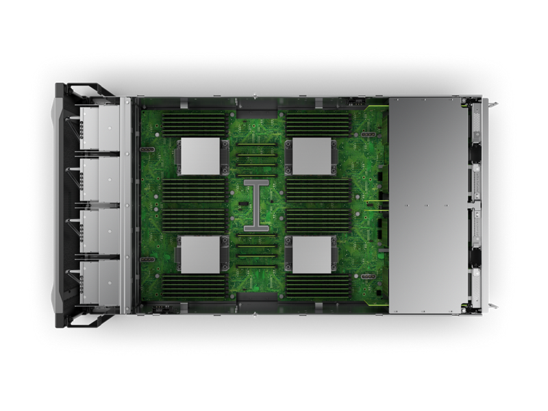 HPE Superdome Flex 280 Image - Top Down Interior