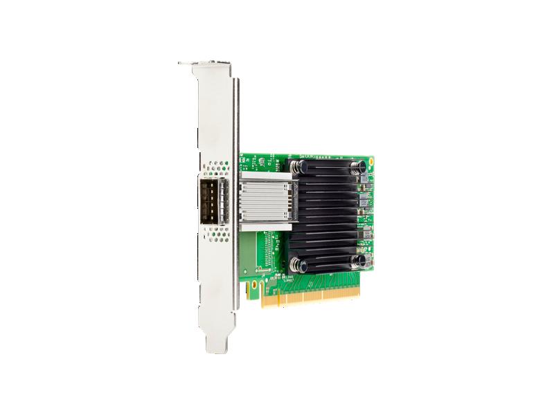 HPE Ethernet 100Gb 1-port QSFP28 PCIe3 x16 MCX515A-CCAT Adapter