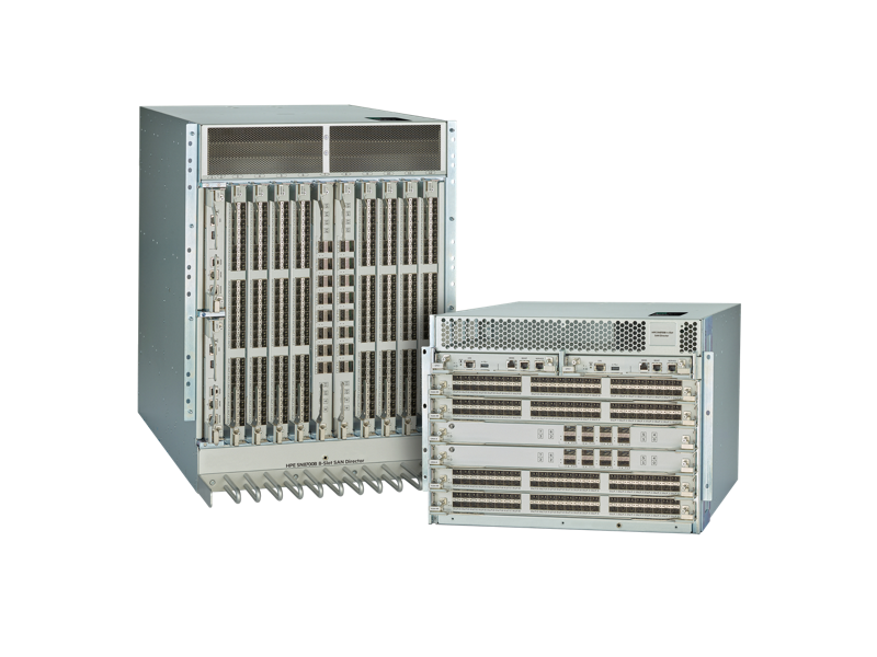 HPE B-series SN8700B Fibre Channel Switch family